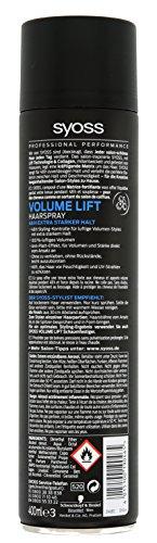 Syoss Volume Lift Haarspray, Haltegrad 4, extra stark, 6er Pack (6 x 400 ml) - 2