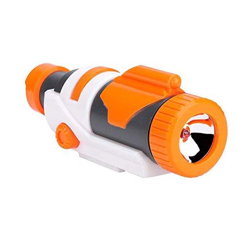 TEANTECH Plastic Tactical Flashlight for Nerf Modify Toy Nerf Gun Accessories,Blue Light