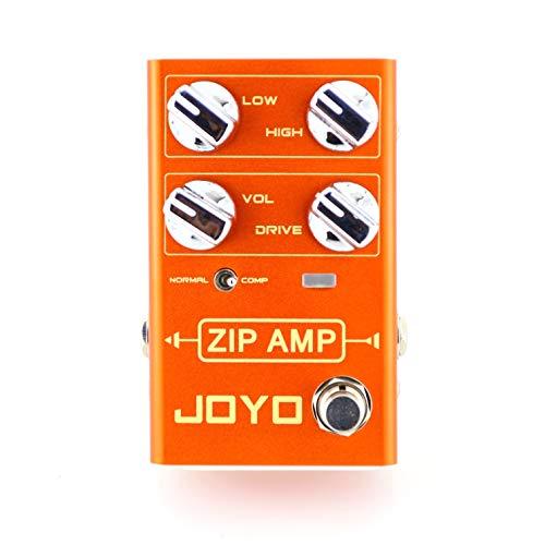 JOYO Zip Amp Overdrive Compression Guitar Effect Pedal - Revolution R Series