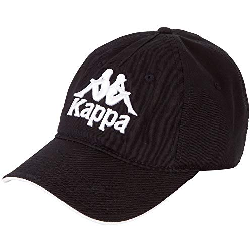 Kappa Mens Vendo 707391-19-4006 Black One Size Eu (Uk) Cap, Beret, Einheitsgröße