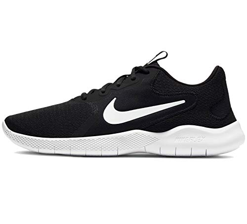 Nike Men's Flex Experience Run Shoe, Black/White-Dark Smoke Grey, 9 4E US