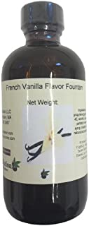 OliveNation French Vanilla Flavor Fountain, Sugar Free, Water Soluble Beverage Flavoring for Ice Cream, Soda, Baked Goods,...