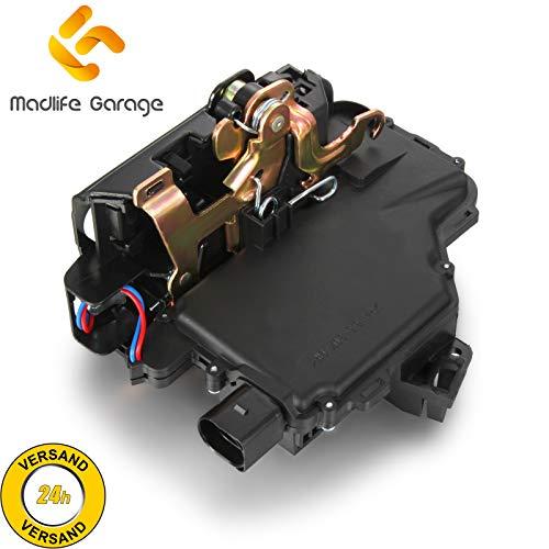 Madlife Garage 3B4839016A Türschloss Stellmotor Hinten Rechts mit Zentralverriegelung Golf IV 1J1 Golf IV Variant 1J5 Passat
