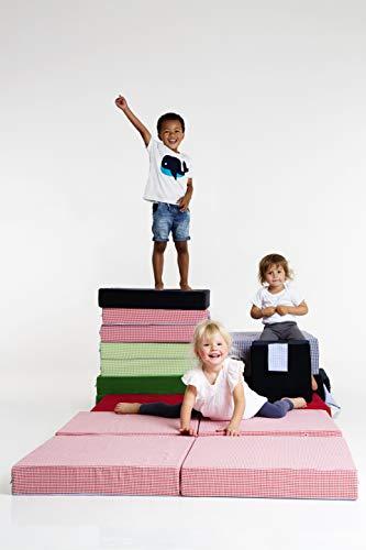 Spielpolster für Kinder, Spielmatratze für Kinder (rot)