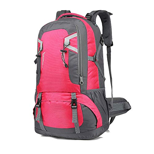 LXXYJ Waterproof Camping Backpacking,Hiking Backpack,Outdoor Trekking Backpack Suitable for Women Men Child Running Cycling Mountaineering Travel,Pink,small