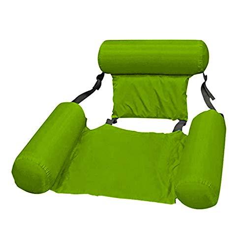 BAKAM Inflatable Water Hammock Float for Adults, Portable Multi-Purpose Pool Hammock (Saddle, Lounge Chair, Hammock, Drifter), Folding Water Hammock...