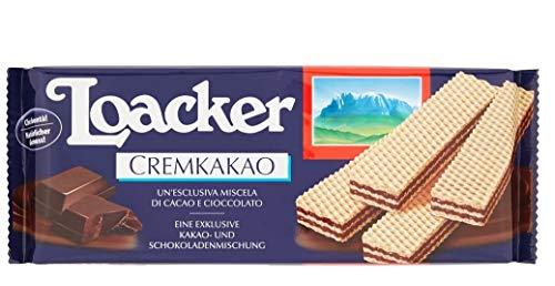 3x Loacker Wafer Cremkakao Waffel Mischung aus Kakao und Schokolade 175g