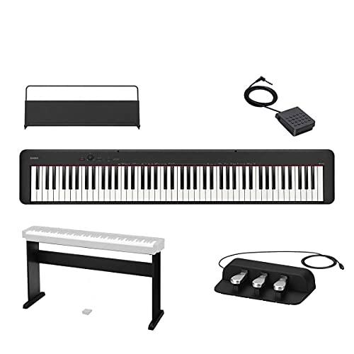 PIANO DIGITAL CASIO STAGE PRETO MODELO CDP-S150BK