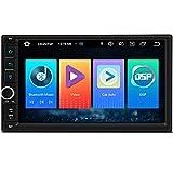 XTRONS 7 pulgadas Android 10.0 coche estéreo Radios reproductor GPS navegación DSP integrado CarAutoPlay soporta RCA completo Bluetooth 5.0 1080P DVR DAB+OBD TPMS universal
