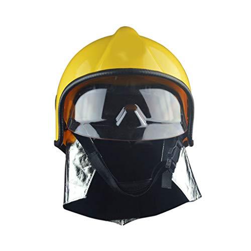 Moolo Cascos Protectores Casco De Seguridad contra Incendios, Bomberos Casco...