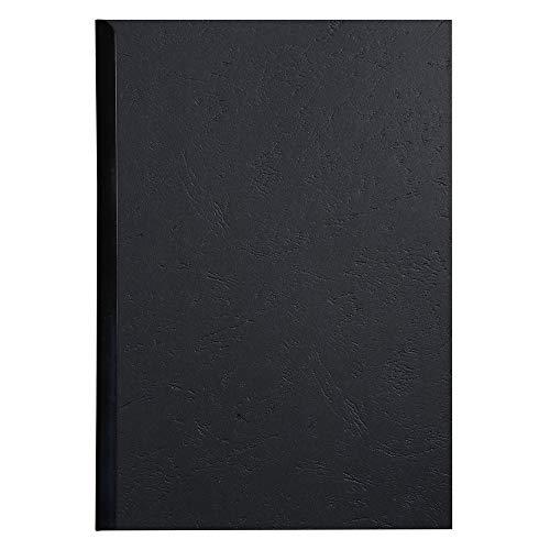 Exacompta 2783C - Lote de 100 cubiertas/cartulinas de dossiers, A4, color negro