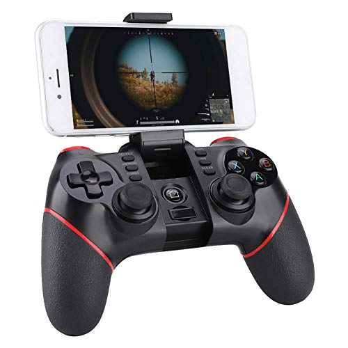 Yeepin PC Gamepad T6 Bluetooth Wireless Controller, Gaming Controller Joystick für PS3 / PC (Windows XP / 7/8 / 8.1/10) / Android TV-Box, Vista