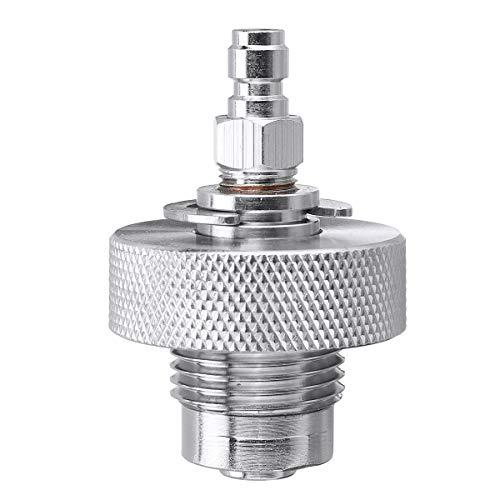 N / A Edelstahl-Ventilfülladapter für Paintball-Druckluftwerkzeug, 300 Bar DIN-Ventil, 01#