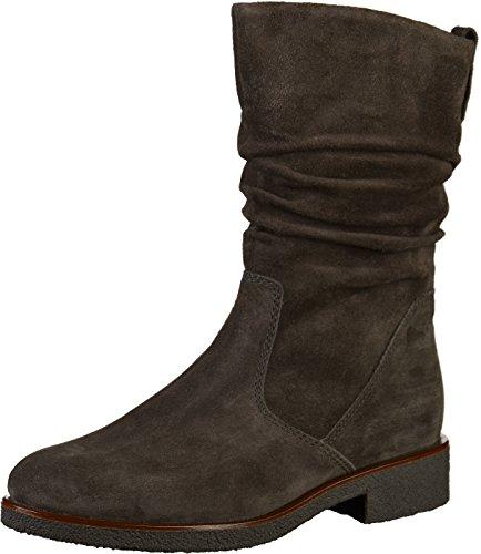 Gabor Shoes Damen Comfort Sport Hohe Stiefel, Grau (Dk-Grey(S.S/C/Mel) 39), EU
