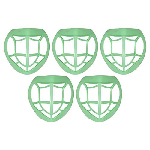 Beautynie 5 Stück Plastik Halterung für Mund-Nasen Mundschutz Face Shield, Schützen Sie das...