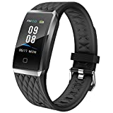 Willful Smartwatch Orologio Fitness Trakcer Donno Uomo Cardiofrequenzimetro da Polso Smart Watch...