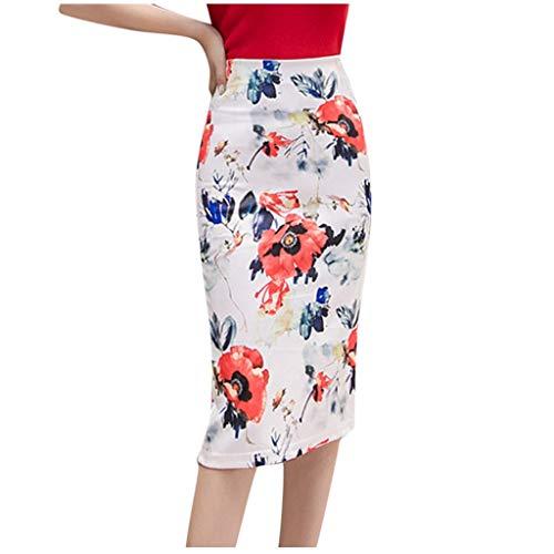 Posional Faldas Sexy Retro ImpresióN Que Empalma Una LíNea De Ajuste Tenedor De Apertura De La Falda Moda Boda Fiesta Mini Faldas De Noche CóCtel Playa Ceremonia Carnaval Dresses Falda