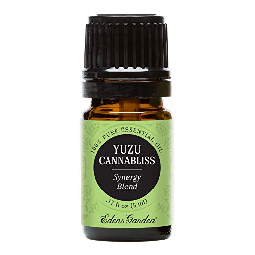 Edens Garden Yuzu Cannabliss Essential Oil Synergy Blend, 100% Pure Therapeutic Grade (Inflammation & Pain) 5 ml