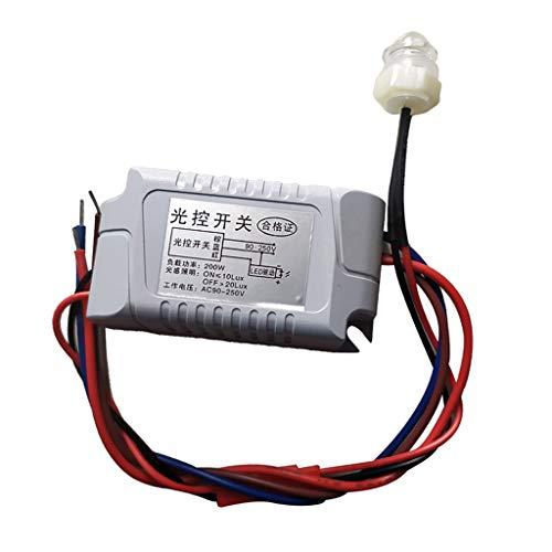 FLAMEER Sensor Crepuscular Interruptor Crepuscular Interruptor Sensor 230V 10A