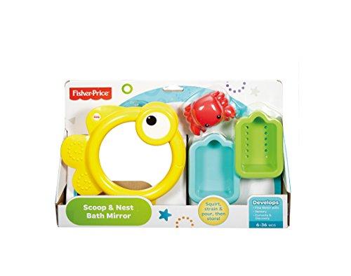 Infant - Espejito para baño Fisher-Price (Mattel CMY27) , color/modelo surtido