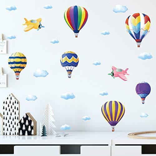 hot air balloon decal - 9