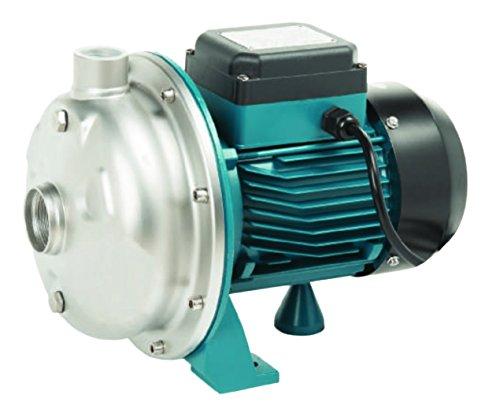 Gartenpumpe mit großem Fassungsvermögen, Pumpe von Brunnen Ibo CPM 20Edelstahl 800W, 170l/min, 10m3/h, 230V