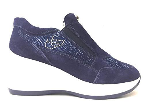 Byblos Scarpe Sneakers Donna 6OBSE1 E060BS0173632 Originale Pelle PE New