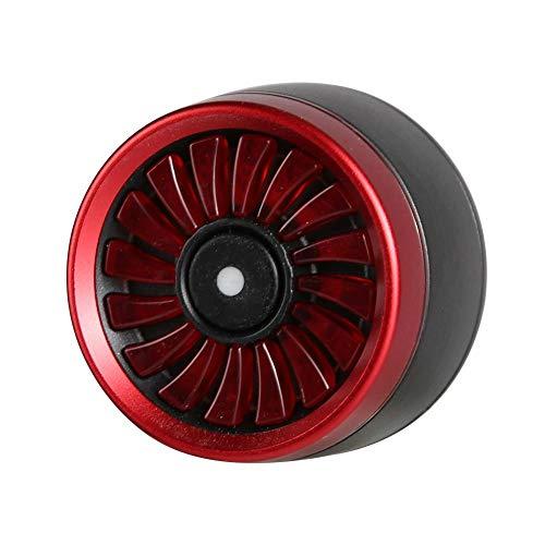 Fiets USB Oplaadwaarschuwing Achterlicht Rood, 15Lm 200M/656.2FT Zichtbare Waarschuwingslamp Rood voor Fiets, Uiterlijk van Turbinemotor Creatief Stylingontwerp voor Veiligheid van Motorrijders
