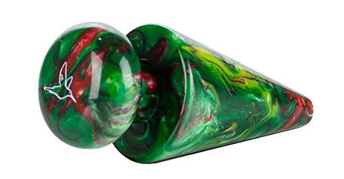 FlyCol Shisha Phunnel Stopfen aus Epoxidharz mit einzigartigem Farbverlauf | Für alle Phunnel | Zubehör für Kopf (Grün)