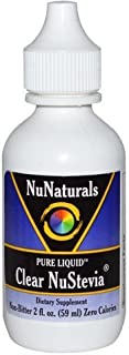 NuNaturals Pure Liquid Clear Stevia, 2 Ounces ( opb1d Pack of 6)