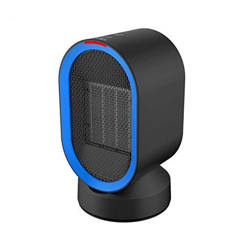 Yuan Dun'er Radiadores electricos bajo Consumo,Calentador Calentador eléctrico Calentador Solar pequeño hogar Ahorro de energía Mini baño pequeño Calentador de Aire Caliente-Negro