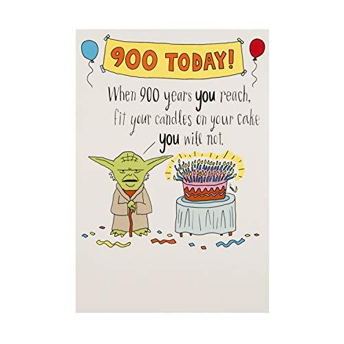 Algemene verjaardagskaart van The Hallmark Studio - Funny Star Wars Design