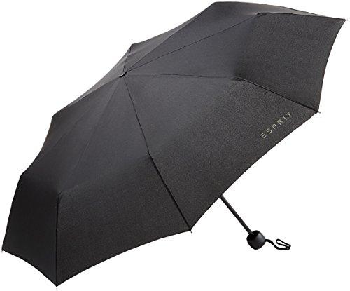 Esprit Mini Basic Schwarz Regenschirm Taschenschirm 50767