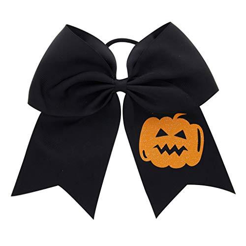 Yuanshenortey Mädchen Halloween Haar Ring Dress Up Big Bow-Knoten Kinder Kopfseil