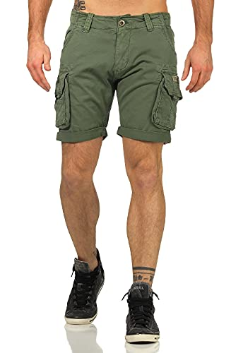 Alpha Industries Crew Shorts Vintage Green