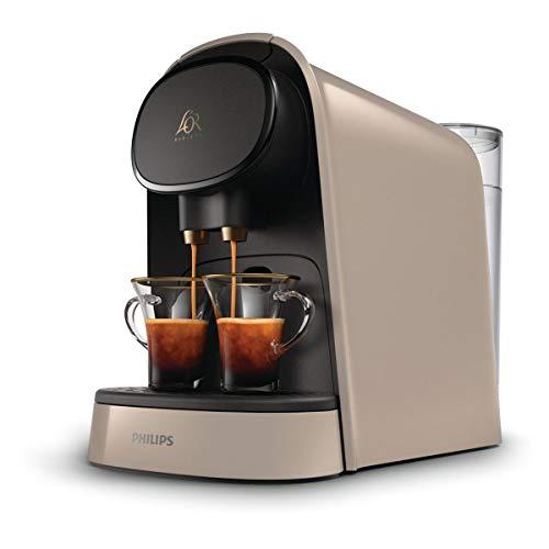 PHILIPS L'OR Barista LM8012 / 10 Kaffeekapselmaschine - Seidenbeige