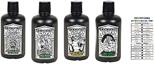 Nectar for the Gods Medusa Magic Gaia Mania Herculean Harvest Zeus Juice Bundle 1 Quart