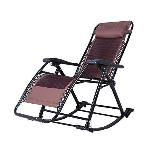 KANGSHENG Aire de jardín, aires plegables, aires plegables, muebles de exterior, aire plegable, tela Textilene