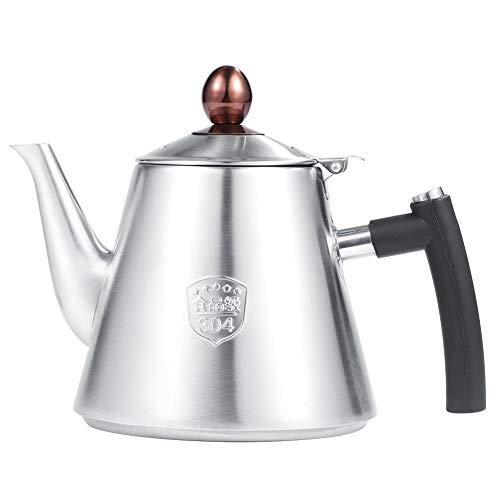 1.2L Tea Kettle Stovetop,Stainless Steel Whistling Tea Pot,Hot Water Kettle Whistling,Stove Top Tea Maker(Matte)