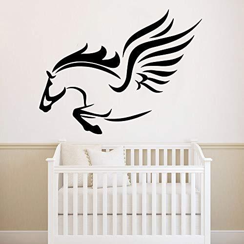 Tianpengyuanshuai Pegasus ontwerp muurstickers kinderkamer decoratie woonkamer slaapkamer huisdecoratie muursticker vinyl behang