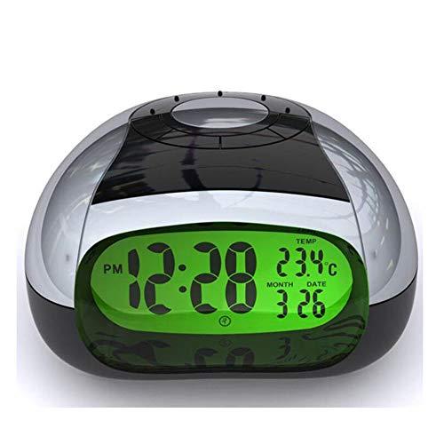 yywl Réveil Réveil Intelligent LED Eye Produit Veilleuse 5 Couleurs Horloge Parlante Moderne Musique Montres Salon Diaplay