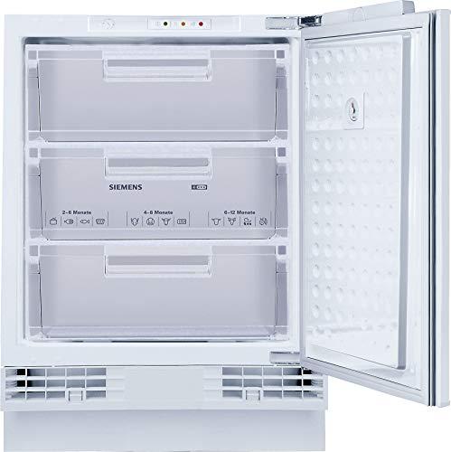 Siemens GU15DADF0 iQ500 Unterbau-Gefrierschrank / A+ / 184 kWh/Jahr / 98 l / superFreezing / softClosing Tür