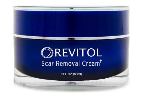 Revitol Scar Removal Cream - Lotion de traitement contre les cicatrices causées par l'acné ou autres ~ 3 pots