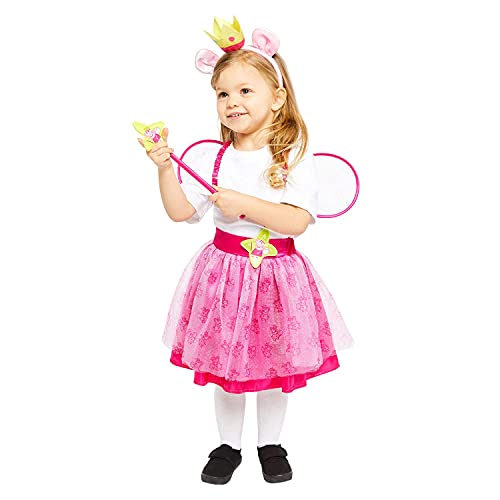 Amscan 9907542 Child Girls Official Peppa Pig Licensed Fairy Princess Fancy...