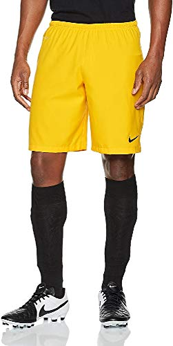 Nike Laser II Woven Shorts NB Fußball, Universität Gold/Schwarz, XL