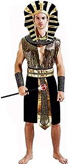thematys® Disfraz de faraón Egipto para Hombre Cosplay, Carnaval y Halloween - Talla única 160-180cm (Style 1)