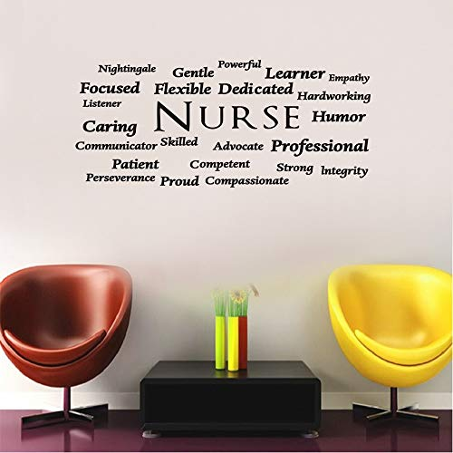 Nurse Wall Decal Nurse Wall Decor Nurse Office Decor Nurse Appreciation Wall Decal Nurse Wall Art Nurse Office Decal Nurse Decor Nurse Vinyl Wall Decal Educational Quotes Wall Decals Work Wall Decals