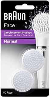 غيار فرشاة براون فيس القياسية Braun Face - فرشاة تنظيف الوجه. حزمة ثنائية - Braun face 80
