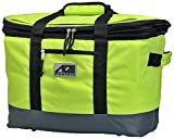 AO Coolers Collapsible Insulated Tote Basket, 30-can, Lime Green