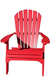 Phat Tommy Recycled Poly Resin Folding Adirondack Chair